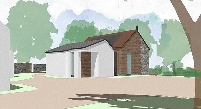 Artist Studio Small Barn Conversion