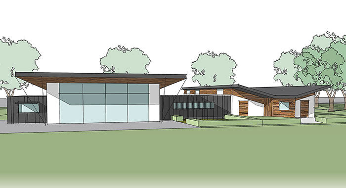 Edmonds Park Sports Pavilion - New Build Community Facilities