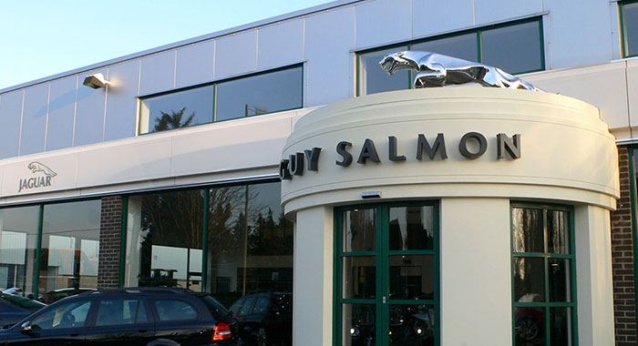 Guy Salmon Jaguar Dealership - Car Showroom