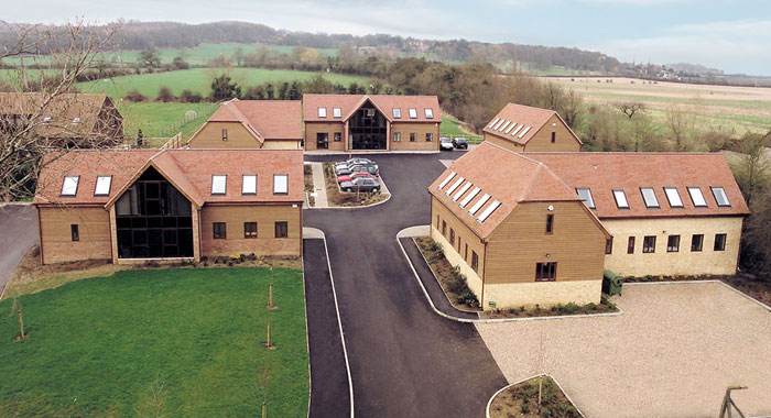 Farmoor Court Offices - Traditional Agricultural Character