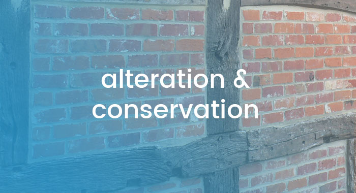 alteration and conservation