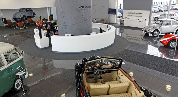 Volkswagen Group Uk Reception Facility