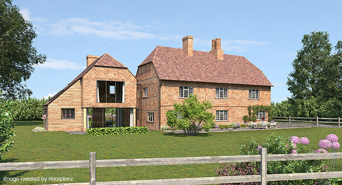 listed farmhouse