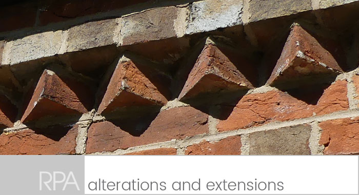 alterations and extensions