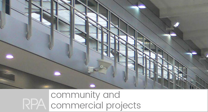 community and commercial developments