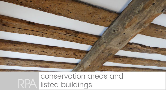 conservation areas and listed buildings
