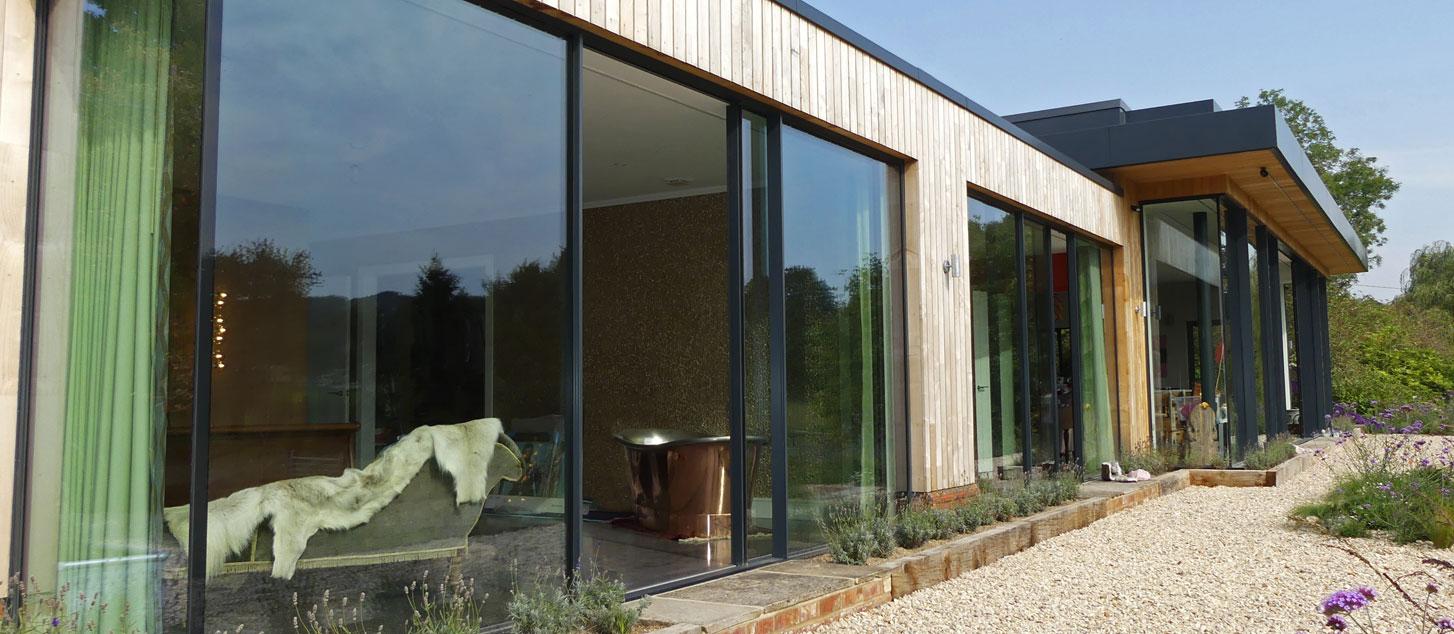 contemporary countryside home