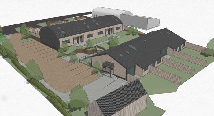Disused Farmyard Residential Development